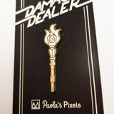 Staff of Fire Pin - Paola's Pixels