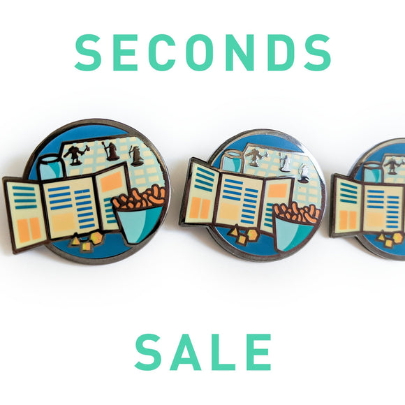 Seconds Sale! Dungeons and Dragons Enamel Pin, Dungeon Master Enamel Pin, Gifts for Game Masters, gifts for geeks, D&D gift