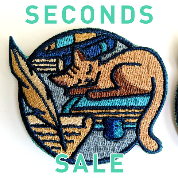 Seconds Sale! Dungeons and Dragons patch, DnD Wizard patch, Dungeon Master Gift, D&D Sorcerer patch, cat patch, Pathfinder patch, book patch