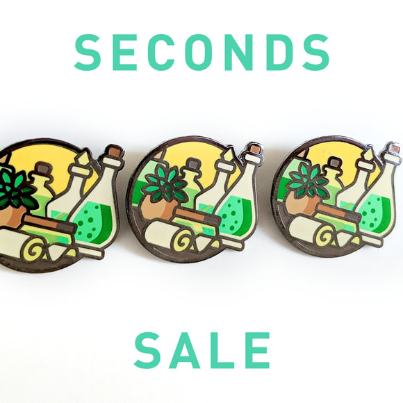 Seconds Sale! Dungeons and Dragons Healer Pin, Cleric Pin, Gifts for Gamers, gifts for geeks, D&D gift, stocking stuffer