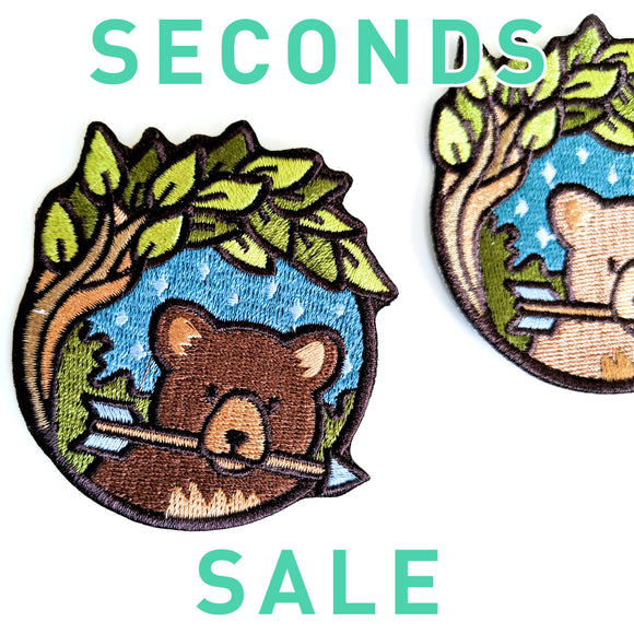 Seconds Sale! Dungeons and Dragons patch, DnD Ranger patch, Dungeon Master Gift, D&D Druid patch, Bear patch, Pathfinder patch, Forest patch