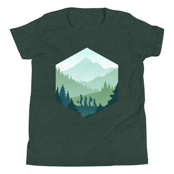 Adventure d20 Youth Shirt - Paola's Pixels