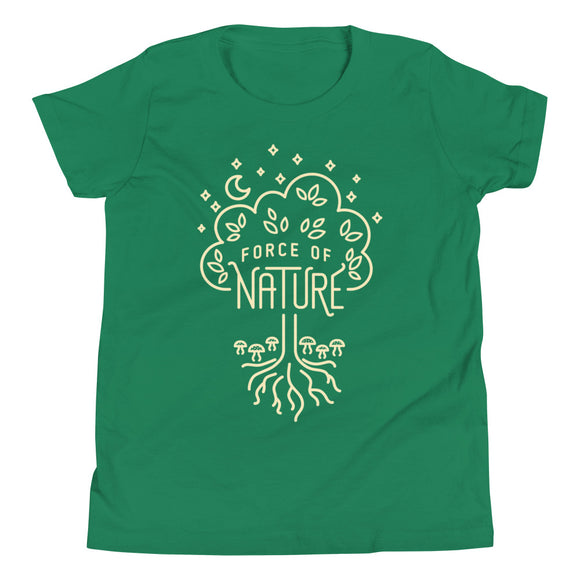 Force of Nature Youth Shirt - Paola's Pixels
