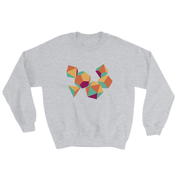 Colorful Dice Sweatshirt - Paola's Pixels