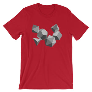 Grayscale Dice Shirt - Paola's Pixels
