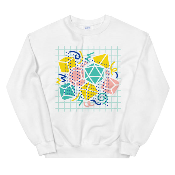 90s Dice Sweatshirt Light Version