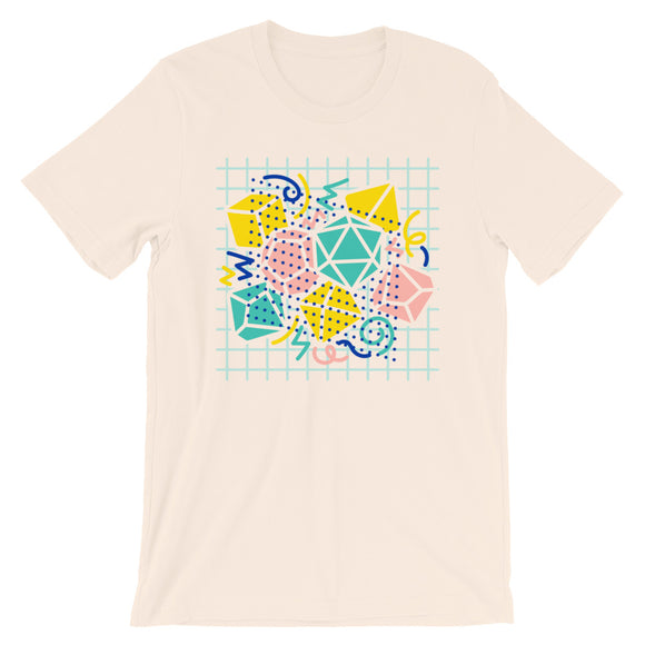 90s Dice Shirt Light Version - Paola's Pixels