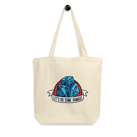 Let's Dome Some Damage Tote Bag