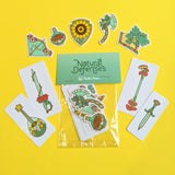 Natural Defenses Sticker Pack