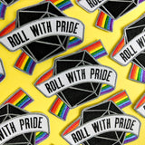 Roll with Pride Patch - Paola's Pixels