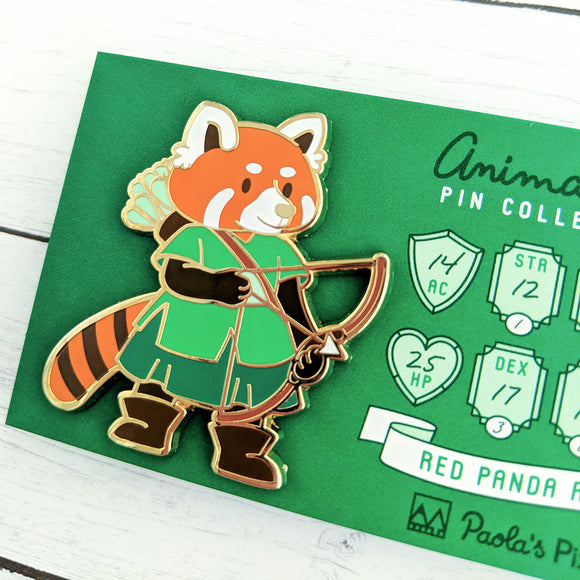 Red Panda Ranger Enamel Pin