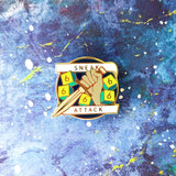 Sneak Attack Enamel Pin