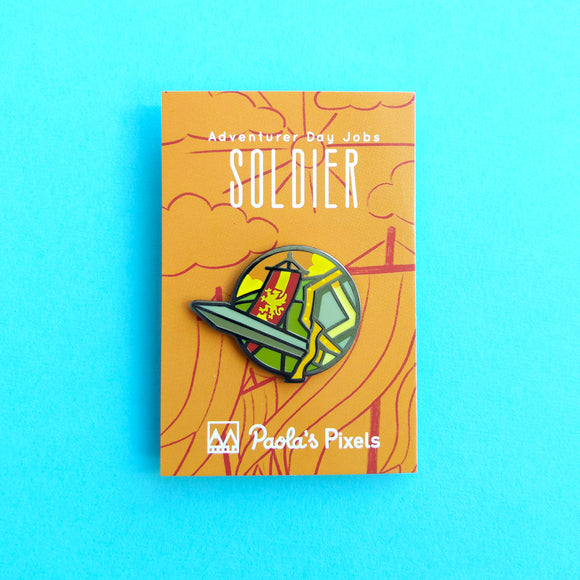 Soldier Enamel Pin