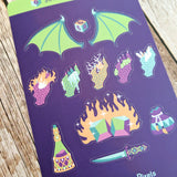 Sorcerer Sticker Sheet