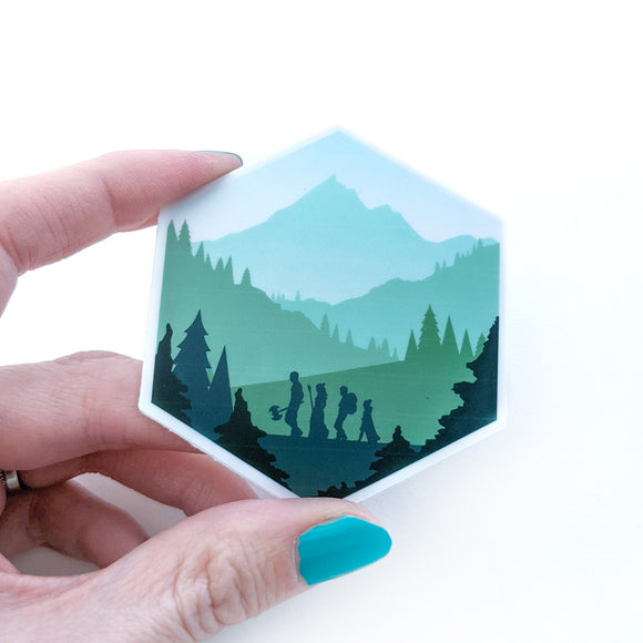 Seconds sale! d20 Adventure Sticker - Paola's Pixels