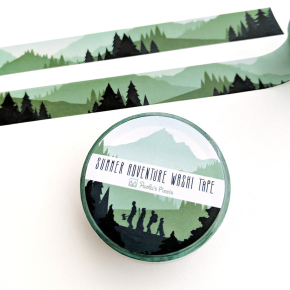 Summer Adventure Washi Tape - Paola's Pixels