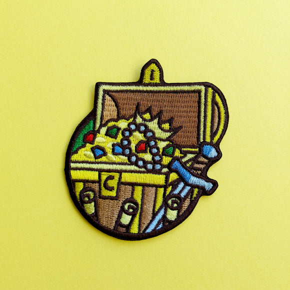 Treasure Hunter Patch - Paola's Pixels