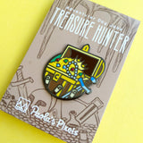Treasure Hunter Enamel Pin