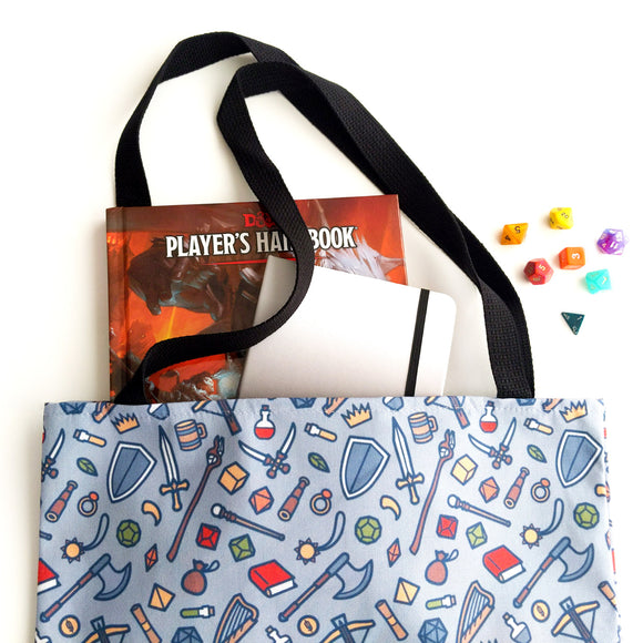 Tabletop Items Tote Bag - Paola's Pixels
