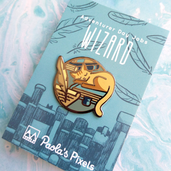 Wizard Enamel Pin