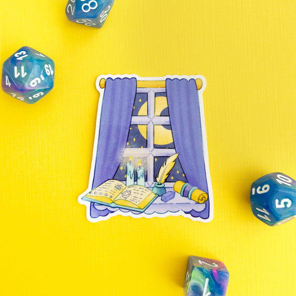 Wizard Window Sticker