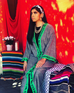 "The Eid Fiesta Collection - ""Viva Mexico"" - Green & Blue"