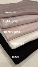 "NEW! Hijab - Premium Jersey: ""Better Than Basic"" - 5 colors!"