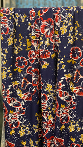 NEW! Jersey Hijab - Limited Edition: Retro Floral Blossoms