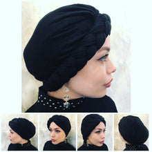 Premium Jersey Braided Turban