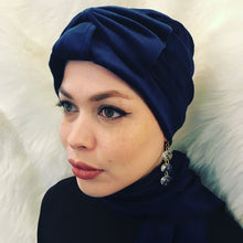 Velvet Turban with Hijab