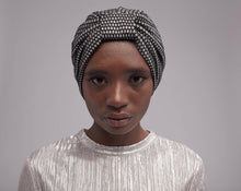 "Luxe Metallic Turban: The ""Lujo"""