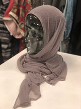 Hijab - Premium Jersey: Basic Sheer in Grey