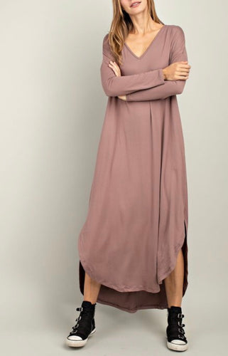 The Perfect Tunic Dress - Mauve