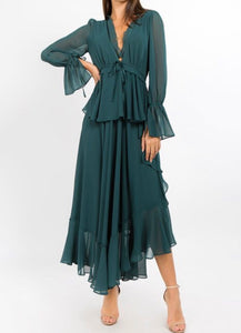 """Night on The Town"" Maxi - Hunter Green"