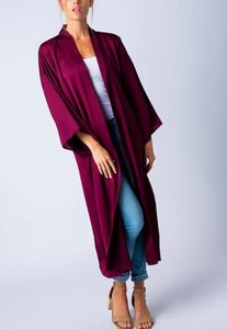 Holiday Kimono Cardigan - two colors!