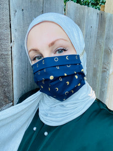 Hijabi Friendly Face Mask - Ramadan Moons