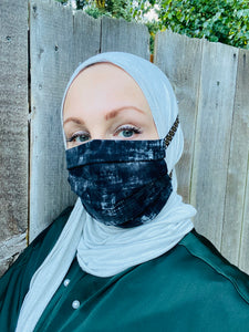 Hijabi Friendly Face Mask - Stormy Night