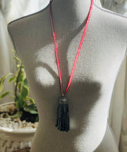 Leather Tassel Necklace Collection