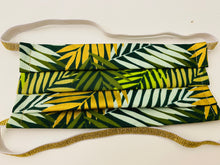 NEW! Hijabi Friendly Face Mask - Metallic Palms Ankara Africa