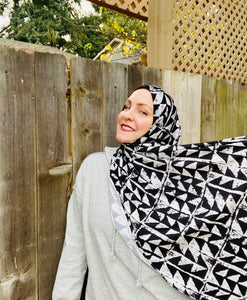 Active Lycra Jersey Hijab - Limited Edition: Slip On - Trifecta