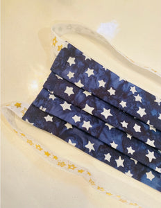 Hijabi Friendly Face Mask - Super Star (Adjustable Elastic Option)