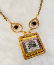 Vintage Necklace - The Kaaba in Pink