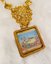 Vintage Necklace - Mecca Mukarramah Gradient Colors