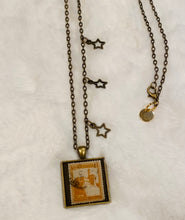 Vintage Necklace - Palestine in Antique Brass