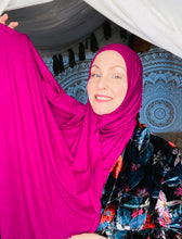 Limited Edition Jersey Hijab: Solid Berry