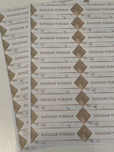 Ramadan Mubarak Stickers - 6 Designs!