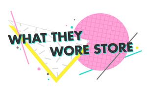 What They Wore Store Logo