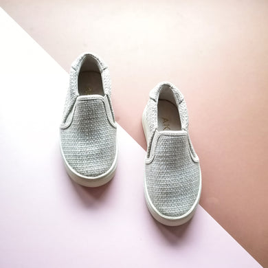 AKID Liv Tweed Unworn Slip-ons US 8, UK 7 - infant