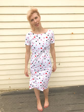 Vintage 80s Abstract Dress 10/12