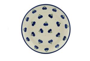 "8"" round berry plate"